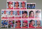 2013 Topps Heritage Washington Nationals Base Team set 16