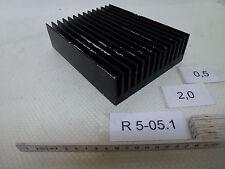 Kühlkörper L/B/H ca. 196mm/150mm/49mm Aluminium schwarz
