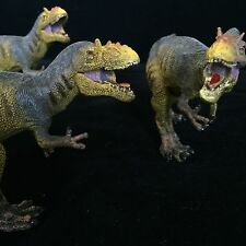 "Painted T-Rex Dinosaur 8"" Long Action Figure Toy Tyrannosaurus (Jurassic Park)"