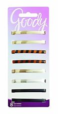 Goody Hair Barrettes, Patterned Stay Tight, 8-count model number: 04417 NEW AOI