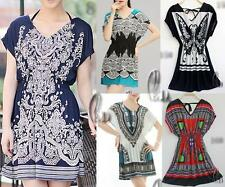 WHOLESALE BULK LOT OF 10 MIXED STYLE Tunic Kaftan Top/Beach Bikini Cover sw016