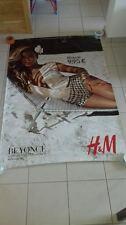 H&M BEYONCE 4x6 ft Shelter Original Fashion Advertising Vintage Poster