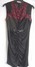 Black Goth Style Dress Size Small Party