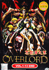 Overlord Anime DVD (Eps : 1 to 13 end) with English Subtitle