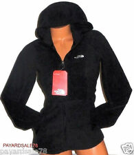 WOMEN'S SIZE XL THE NORTH FACE BLACK FLEECE JACKET FULL ZIP TAMARA HOODIE