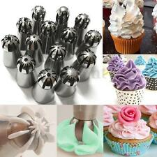 14Pcs Russian Sphere Ball Icing Piping Nozzles Cake Decoration Tips Pastry Tool
