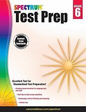 Spectrum Test Prep, Grade 6