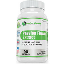 100% Pure Passion Flower Extract Capsules 900mg  Depression, Anxiety
