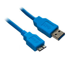3M USB 3.0 SuperSpeed A to Micro B Hard Drive Cable Lead 3 Metre Long