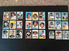 1996 Topps Willie Mays Commemorative set (1-27). A must for Mays fans