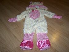 Infant Girls Size 6-12 Months Lamb Sheep Halloween / Easter Costume Pink EUC