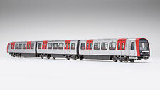 H0 / VK 08 2301 90 U-Bahn Hamburg DT5 dreiteilig. Unmot. Gleichstrom WG 311