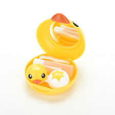 Kit Holder Travel Mirror Box Eye Care Cute Beauty Convenient Contact Lens Case