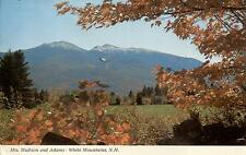 USA - New Hampshire  -  White Mountains - Mts. Madison and Adams from Randolph