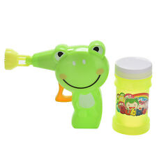 Bubble Gun Cartoon Blowing Bubbles Water Small Kids Outdoor Game Toys FG