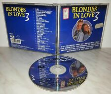 CD BLONDES IN LOVE 3 - COLLINS - SIMPLY RED - PLANT - YES - REA