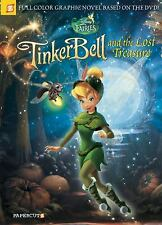 Disney Fairies Graphic Novel #12: Tinker Bell and the Lost Treasure-ExLibrary
