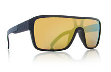 720-2103 Dragon The Jam Remix Jet Black with Gold Ion Lens Sunglasses