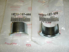 Honda New Set of 2 Exhaust Collar Pipe Joint 100 125 200 250 400 500 550 CB400F
