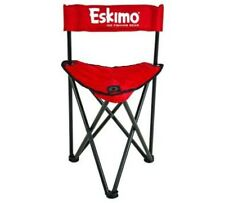 Folding Ice Chair Fishing Camping Portable Stool Seat Outdoor Hiking Beach BBQ