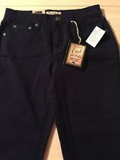 Earl Jeans Dark Blue Capri Women's Stretch Jeans Size 2 New! $48