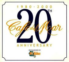 CAFE DEL MAR = 20th Anniversary =2CD= DOWNTENPO AMBIENT CHILLOUT !!