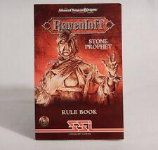 Advanced D&D Dungeons & Dragons Stone Prophet Rule Book - Mindscape