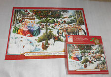Twelve Days Christmas Lynn Bywaters 1000 Piece Jigsaw Puzzle 20x27 Partridge