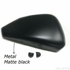Battery Left Side Cover for Sportster XL883 1200 48 72 04-13 Matt black