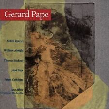 CHAMBER WORKS [Pape, Gerard] New CD