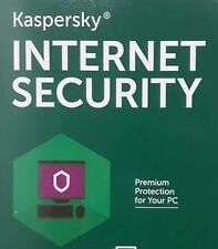 Kaspersky Internet Security 2016 - 2017 - 1 User 1 Year - Antivirus Windows 10 R