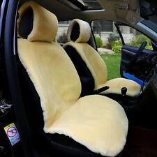 1 PC One Front Car Seat Covers Faux Fur Cushion Winter Warmer Plush Car Seat Pad