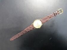 HOT! Rare JB Champion $20 Coin Design Gold Mens Watch Brown Croco Leather Band