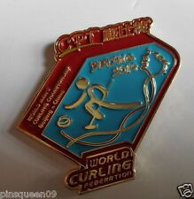 2014 BEIJING CHINA WORLD MEN'S CURLING CHAMPIONSHIP OFFICIAL LOGO PIN