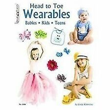 #3446 Head to Toe Wearables, Crafts & Hobbies, Linda Valentino, New, 2010-02-03,