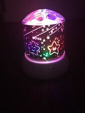 Mini LED Light Projection Lamp Star Sky Projector Night Lamp