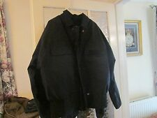 POLICE BLACK CYCLIST GORE-TEX CYCLIST COAT XXL WITH REMOVABLE LINER