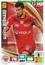 077 QUENTIN BERNARD FRANCE DIJON.FCO CARD ADRENALYN LIGUE 1 2017 PANINI