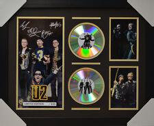 U2 SIGNED MEMORABILIA FRAMED 2 CD LIMITED EDITION V1 2016 #B