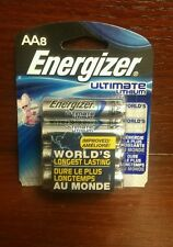 Energizer® Ultimate Lithium AA Batteries 8-Pack Exp: 12-3036