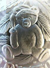 1-OZ.999 SILVER 2013 BABYS 1ST CHRISTMAS  TEDDY BEAR ORNAMENT GIFT BOX COIN+GOLD