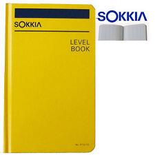 New Sokkia  815255 Level Book