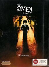 THE OMEN TRILOGY  25th ANNIVERSARY EDITION  3 disc box set