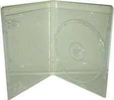 10 Single Clear Bluray DVD cases 14mm