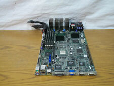 Dell Poweredge 2550 Server Motherboard 2x1.0GHz 4GB Pentium 3 SCSI 9H068 VRMs