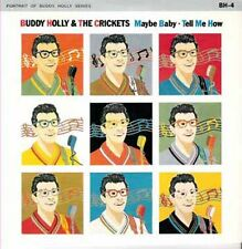 "BUDDY HOLLY - Maybe Baby  (ps)  7"" 45"