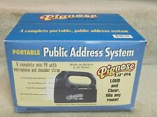 Pignose 'Lil'Pa' portable P.A. System-new'old stock' in box