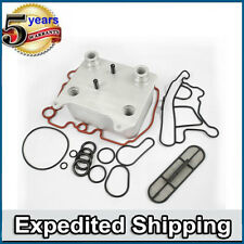 Diesel Complete Oil Cooler Kit D109 For Ford E350 E450 F250 F350 F450 F550 6.0L