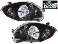 06-09 Eclipse JDM BLACK Headlights Spyder 07 08 2009