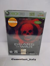 GEARS OF WAR EDIZIONE LIMITATA - XBOX 360 - NUOVO SIGILLATO NEW SEALED ITA